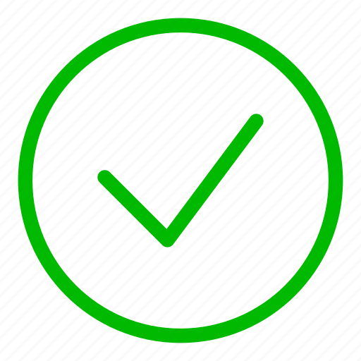 accept, approved, check, good, green, ok, success icon