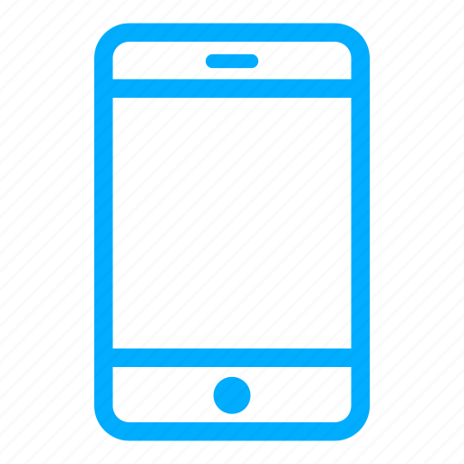 blue, call, cell phone, iphone, mobile, phone, smartphone icon