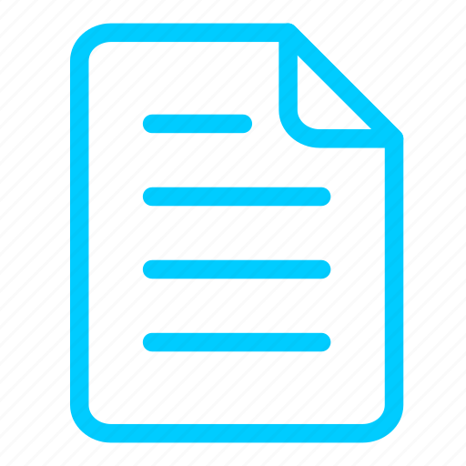 blue, data, documents, files, page, paper, sheet icon