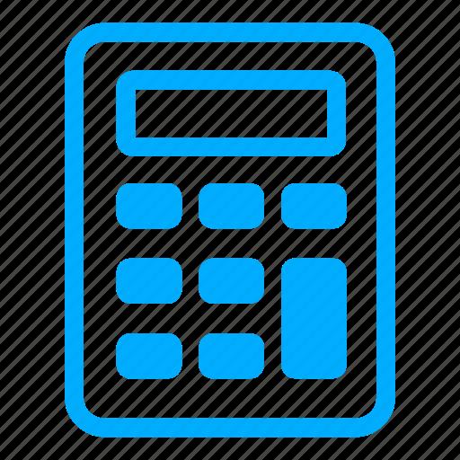 1, blue icon