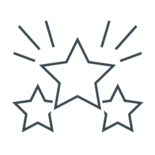 Favorite, stars, page quality, achievement, award, winner icon - Free download