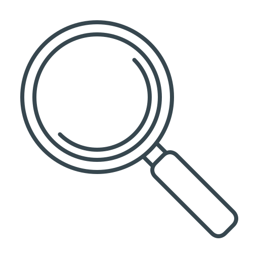 magnifier, magnifying, search, seo, zoom icon