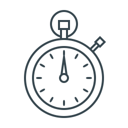 performance, speed, stopwatch, time, time management, timer icon