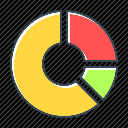 analytics, diagram, marketing, pie, presentation, statistics, web analytics icon