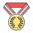 award, awards, best, gold, medal, trophy, winner icon