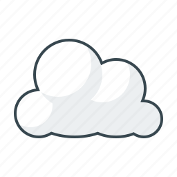 cloud, cloudy, data, seo, weather icon