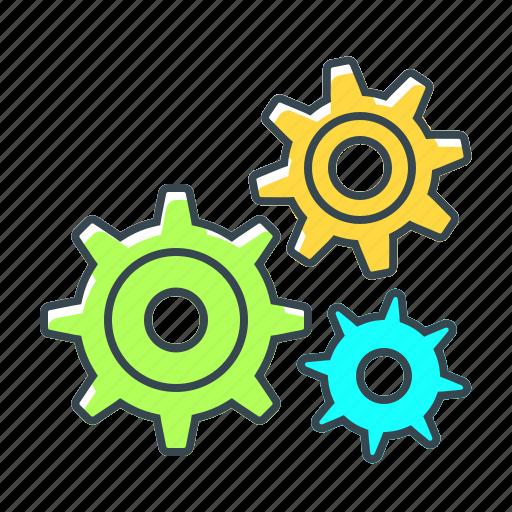 cogwheels, configuration, gear, seo, setting icon