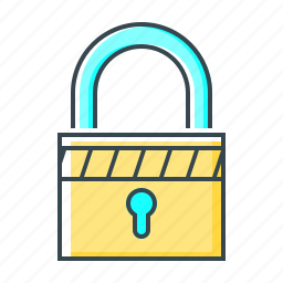 lock, locked, protect, safe, secure, security icon