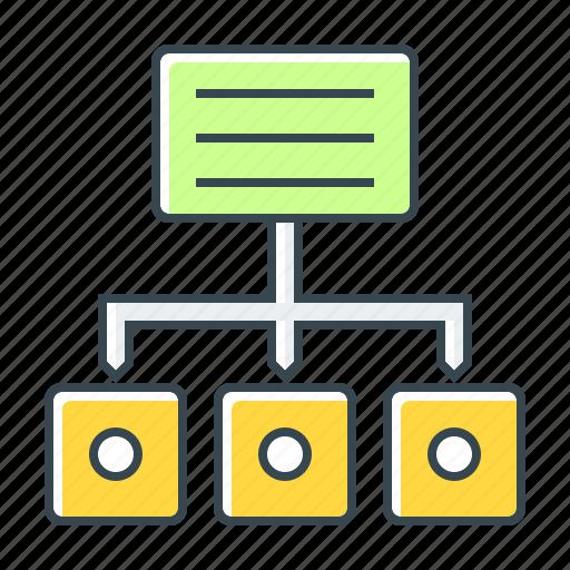 map, scheme, seo, site, site map, subdirectory icon