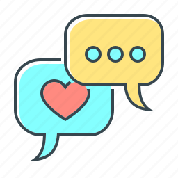 chat, communication, correspondence, engagement, message, social, social engagement icon