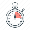 performance, second, speed, stopwatch, time management, timer icon