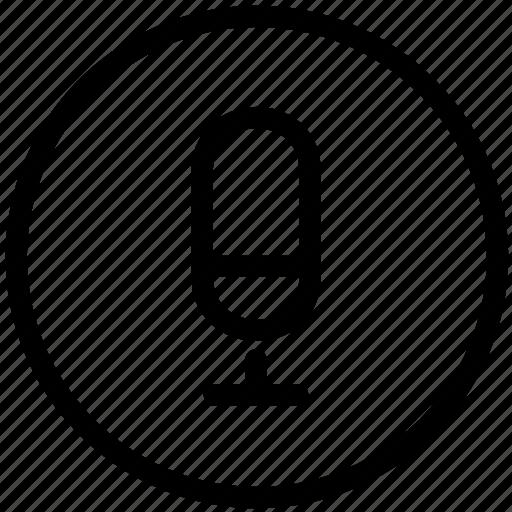 control, media, recorder, voice icon