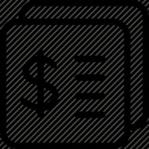 Bill, money icon - Download on Iconfinder on Iconfinder