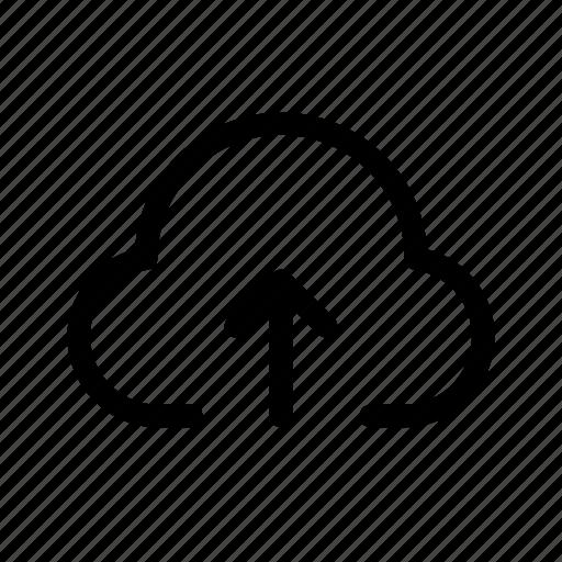 backup, cloud, storage, upload icon
