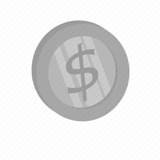 currency, dollar, money, silver, us currency icon