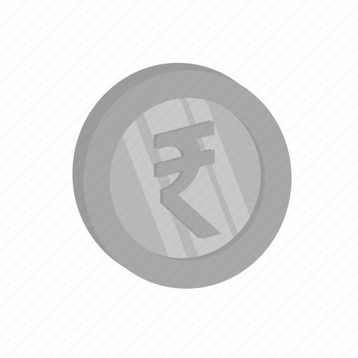 business, indian currency, money, rupee, silver icon