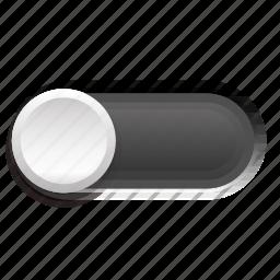 dark, gray, one, phase, switch, three icon