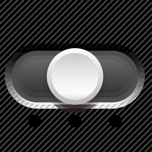 background, dark, phase, second, switch, three icon