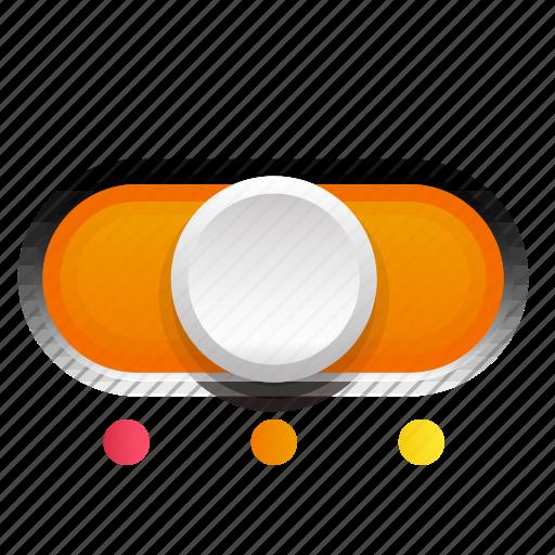 Orange, phase, second, switch, three icon - Download on Iconfinder