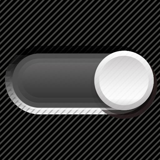 dark, gray, phase, switch, third, three icon