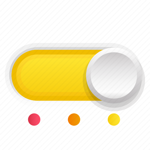 phase, switch, third, three, yellow icon