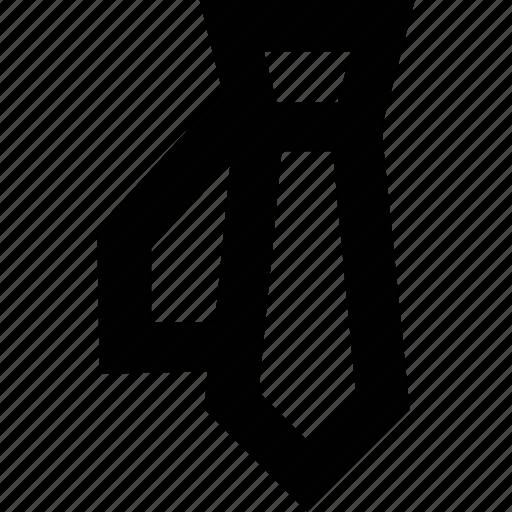 clothes, fashion, suit, tie icon