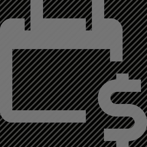 calendar, date, dollar, money icon