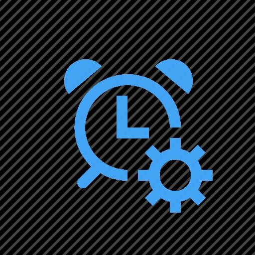 alarm, alert, clock, options, preferences, setting, time icon