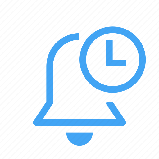 alarm, alert, bell, pending, schedule, time, timer icon