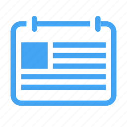 agenda, appointment, calander, content, date, event icon