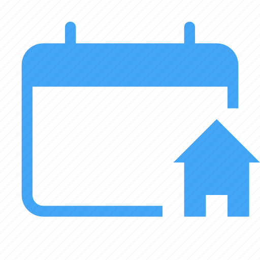 building, calender, calenderevent, date, home, house, schedule icon