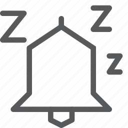 alarm, bell, later, postpone, repeat, snooze, sounds, time icon