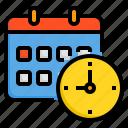 alarm, business, calendar, clock, hour, time icon
