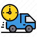 alarm, business, clock, delivery, hour, time icon
