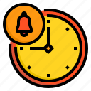 alarm, business, clock, hour, notification, time icon