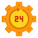 alarm, business, clock, hour, hours, time icon