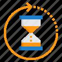 alarm, business, clock, hour, hourglass, time