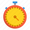 alarm, business, clock, hour, stop, time, watch icon