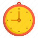 alarm, business, clock, hour, time, wall icon