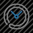alarm, calender, clock, schedule, time icon