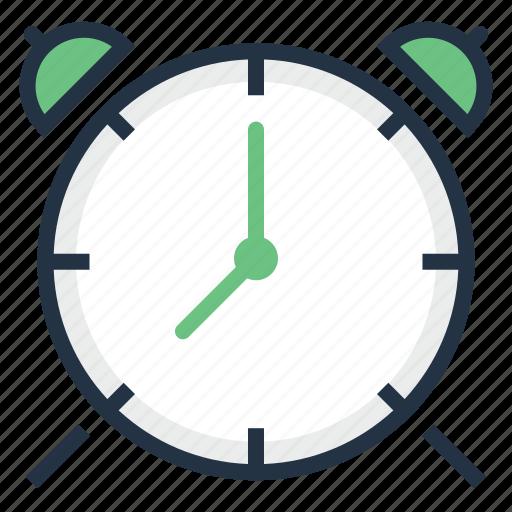 alarm, bell, clock, reminder, ringing, time, timer icon