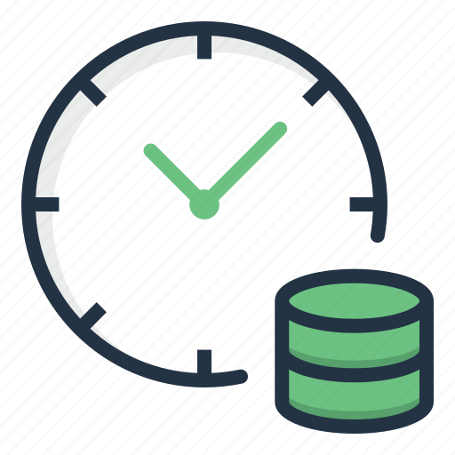 Clock, coin, finance, gold, investment, time icon - Download on Iconfinder