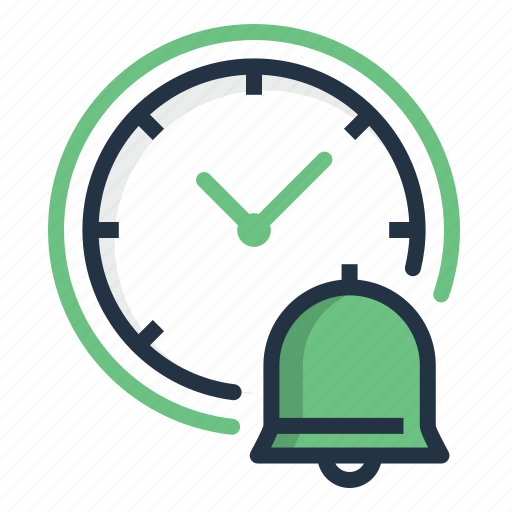 Alarm, bell, clock, reminder, schedule, time icon - Download on Iconfinder
