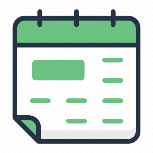 Calendar, date, event, organizer, reminder, schedule icon - Download on Iconfinder