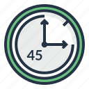 clock, stopwatch, chronometer, minute, timer icon
