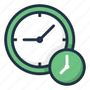 alarm, chronometer, clock, time, timer, watch icon