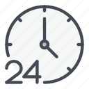 clock, countdown, time, watch icon