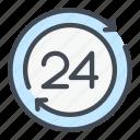 clock, refresh, time, update, watch