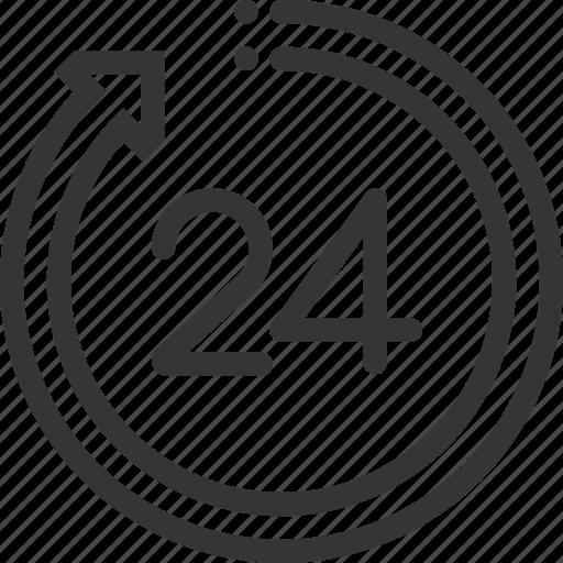 Arrow, break, hours, office, work icon - Download on Iconfinder