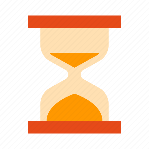 clock, glass, hourglass, sandglass, time, timer, watch icon